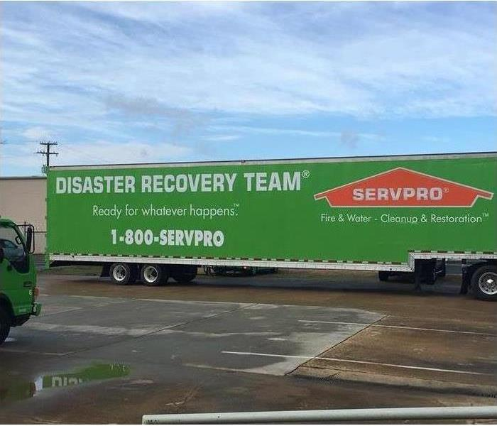 SERVPRO is always ready for when a storm strikes!  After