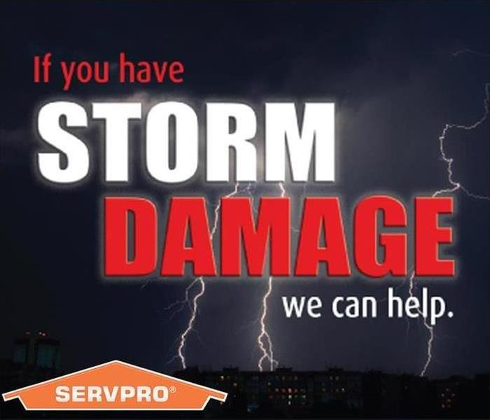 SERVPRO is always ready for when a storm strikes!  Before